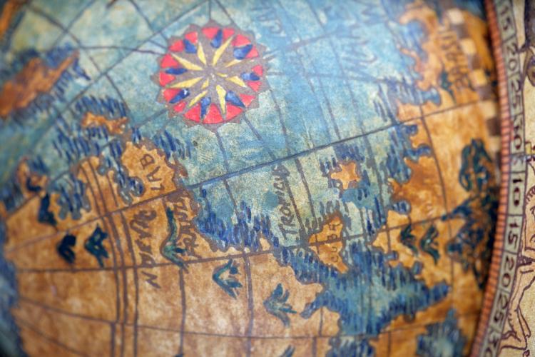 Origines des globes terrestres